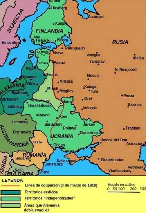Paix de brest litovsk