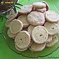 Sablés au romarin / розмариновое песочное печенье