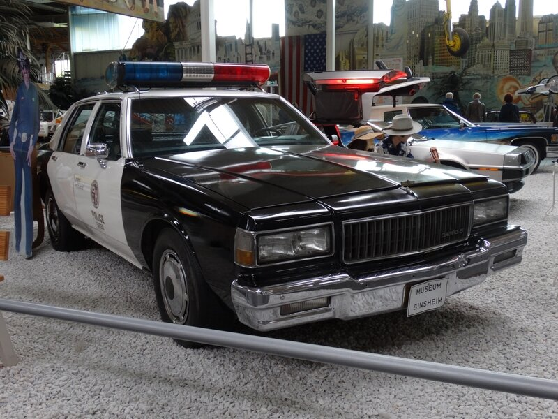 CHEVROLET Caprice Police 4door Sedan 1979 Sinsheim (1)