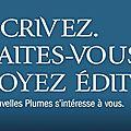 Nouvelles plumes:prix des lecteurs edition 2017