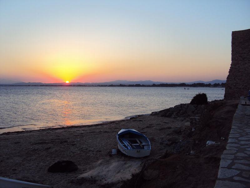Le coucher de soleil du dimanche 5 septembre 2010