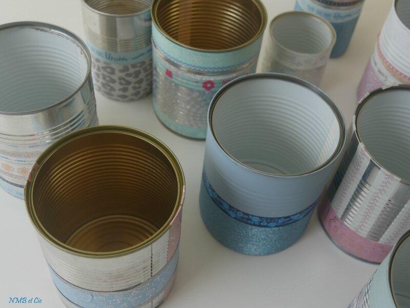 Boites de conserve interieur
