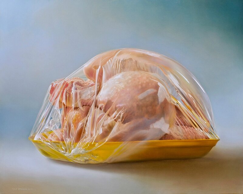 Supermarket-Chicken_2008_90x100cm