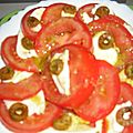 SALADE DE TOMATES MOZZARELLA