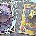 429, 430. cartes bébé