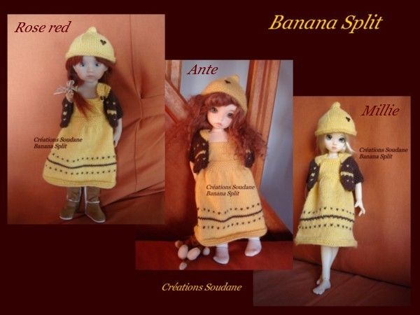 Banana Split pour trois boutchous
