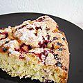 Le gâteau framboise / chocolat blanc