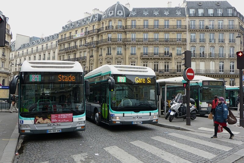 paris la ligne 21 passe l 39 hybride transportparis le webmagazine des transports parisiens. Black Bedroom Furniture Sets. Home Design Ideas