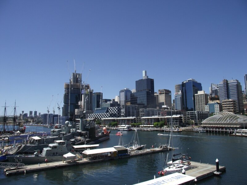 Darling Harbour - Les anciens docks