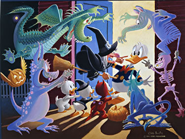 trick_or_treat_peinture_carl_barks
