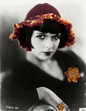 louise brooks chapeau