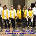 Concert du 06/04/2014 - Pertuis, Chapelle de la Charité