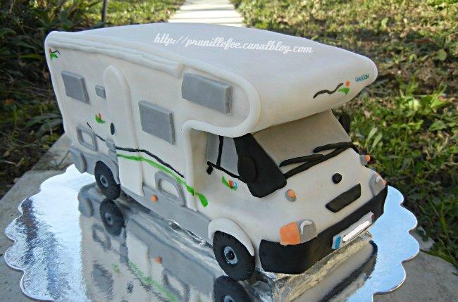 Gateau Camping-car