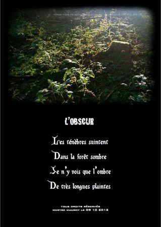 l'obscur