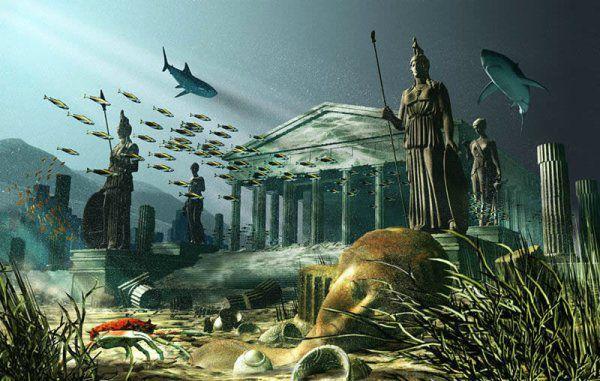 Image result for La fin de l'atlantide