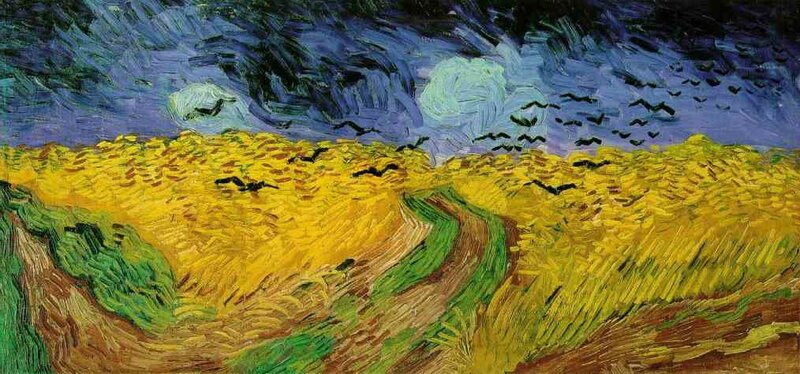 22 Van Gogh Corbeaux