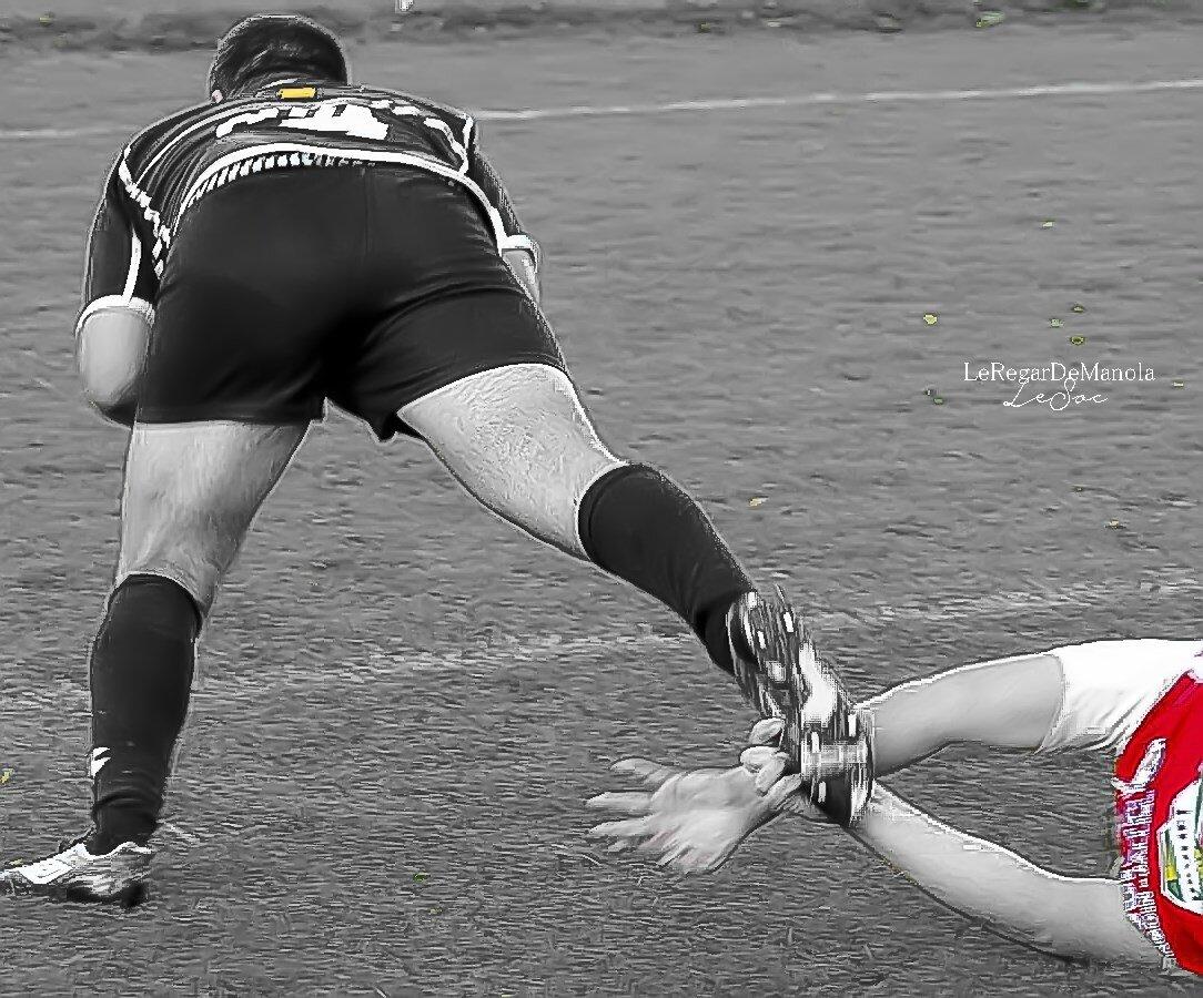 le rugbyman...