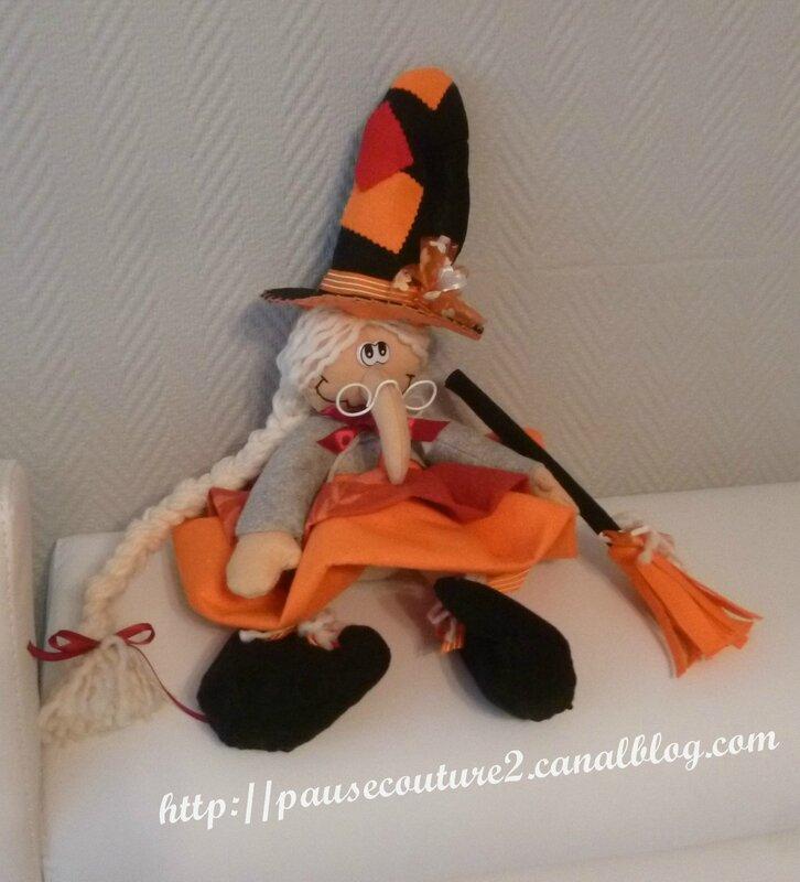 Renkalik sorcière orange b