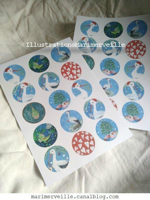 Illustrations marimerveille -cadeaux - ©Marimerveille