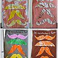 Coloriage de la semaine : les moustaches à papa