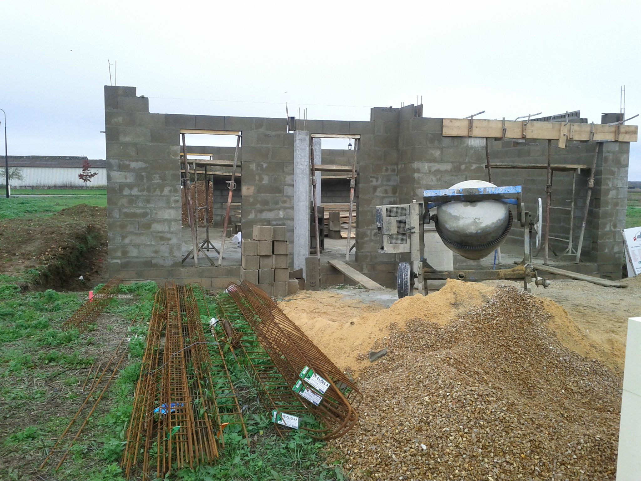 Construction maison gros oeuvre uniquement for Construction gros oeuvre maison prix