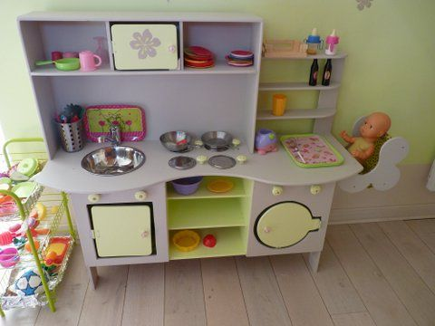 Pour mes enfants 3p m 39 s for Fabriquer cuisine enfant