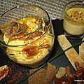 Verrine oeuf mollet,champignons et sauce hollandaise