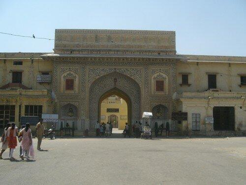 Jaipur, entree de la vieille ville