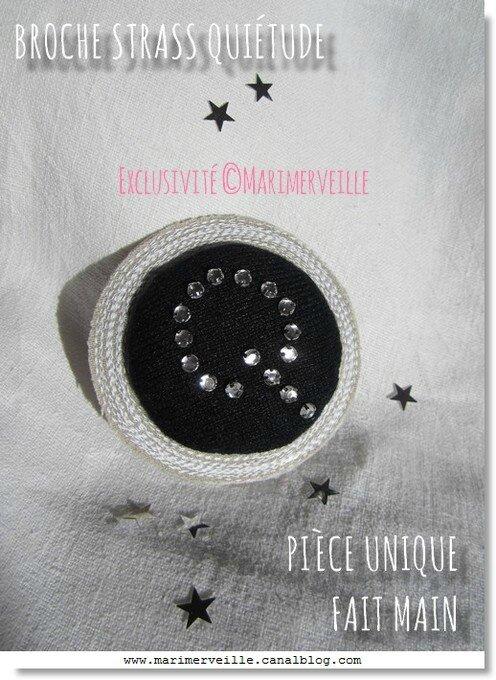 Broche textile N°18 Marimerveille