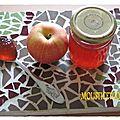 Gelée de pommes un peu spéciale ou la gelée d'épluchure.
