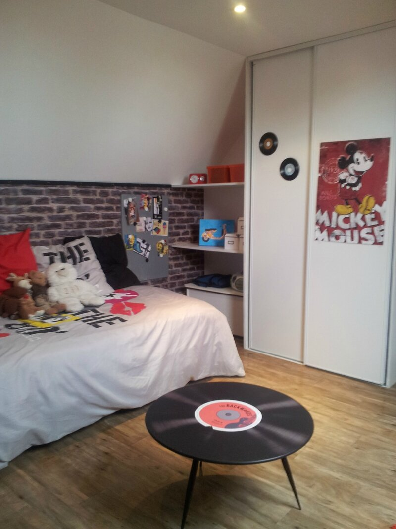 Chambre Vintage Fille. Finest Img Img With Chambre Vintage Fille ...