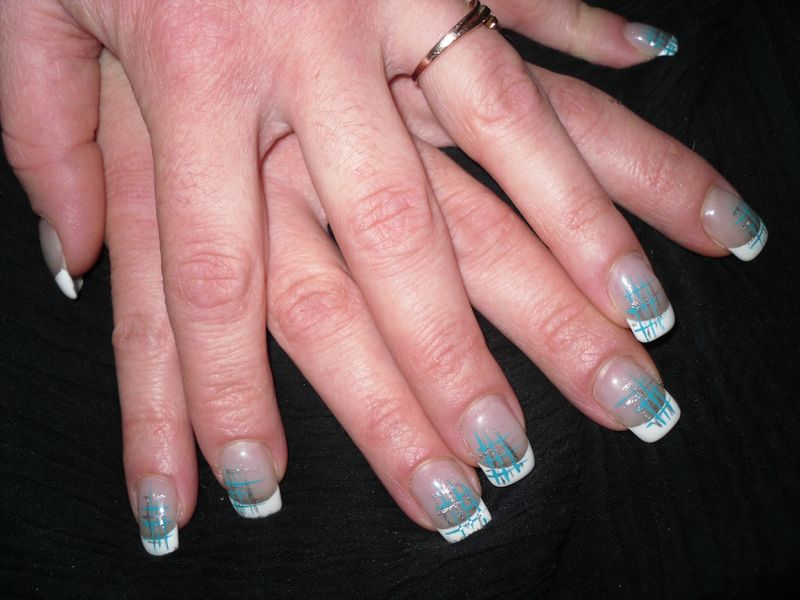 passion 39 nail pose d 39 ongles en gel osez le turquoise. Black Bedroom Furniture Sets. Home Design Ideas