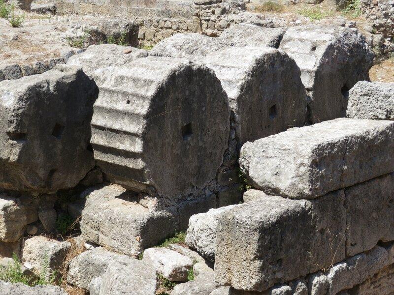 Vestige de colonnes