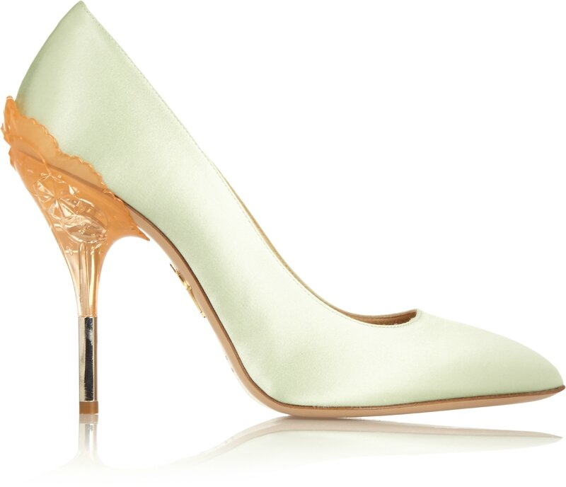 531087_Charlotte Olympia_What's The Scoop Satin pumps__THE OUTNET
