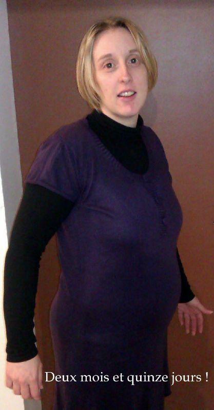 2 5 mois de grossesse photo de ma grossesse mois par mois les bertouilles. Black Bedroom Furniture Sets. Home Design Ideas