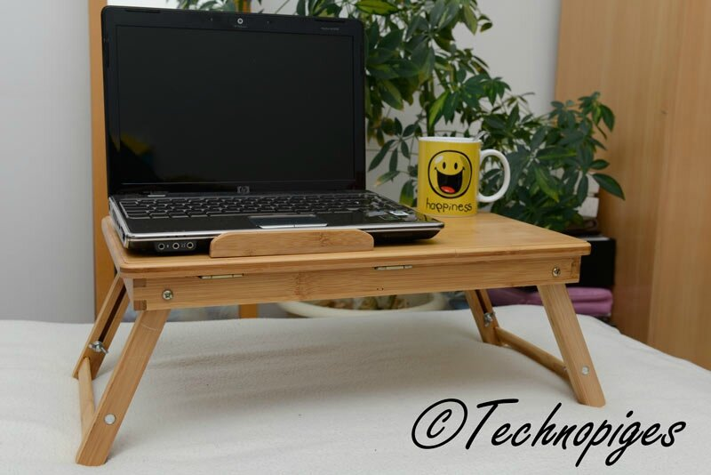 Test de la tablette support pour ordinateur portable de - Table de lit pour ordinateur portable ...