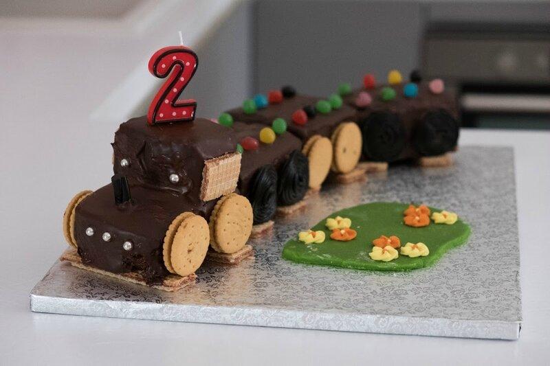 Gâteau Train