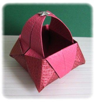 boite et toile origami sonic scrap. Black Bedroom Furniture Sets. Home Design Ideas