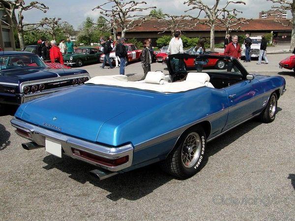 pontiac le mans sport convertible 1972 4