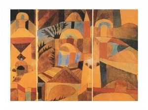 jardin des saints Paul Klee