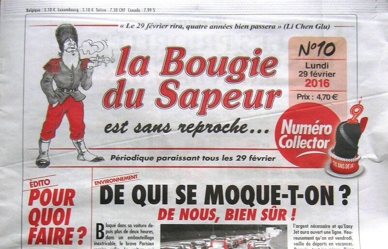 Journal La Bougie du Sapeur n°10 2016 R