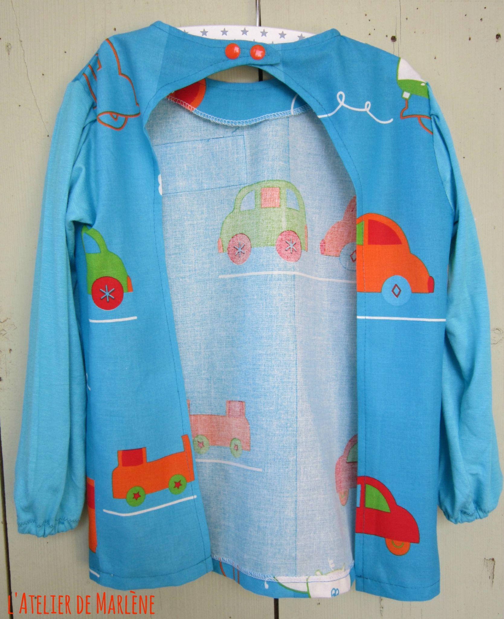 Super La blouse de peinture de rentrée - Les créations Bijoux et  FI63