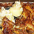 Un tour en cuisine 99: gratin de pommes de terre au roquefort
