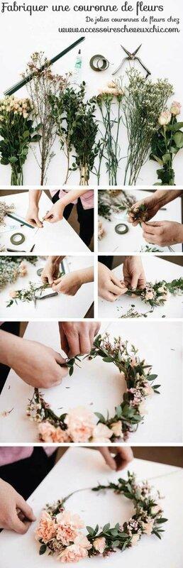 Fabriquer-couronne-fleurs-cheveux