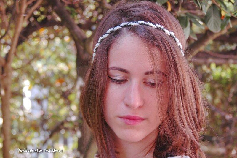 headband noir et blanc 2