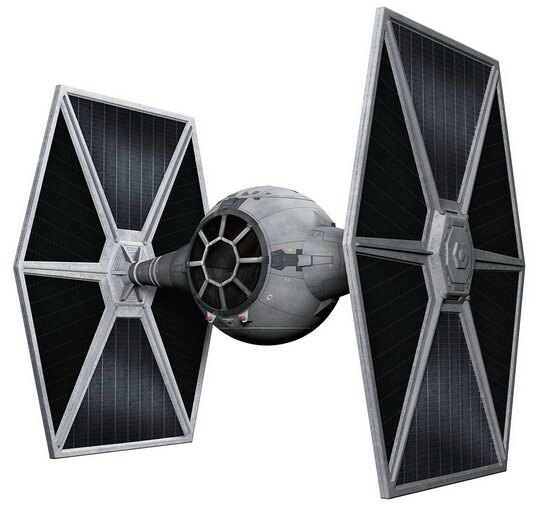 suspension tie-fighter