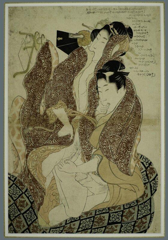 Hokusai Shunga 18