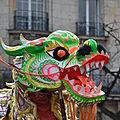 Défilé du Dragon Paris 13° janvier 2012