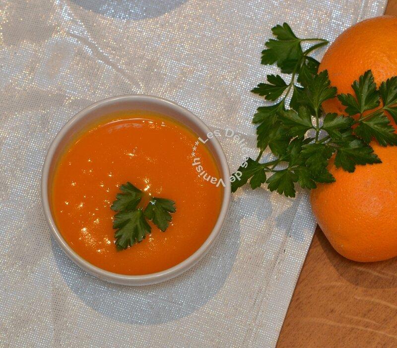 bonne soupe pour l'hiver, que faire avec des oranges