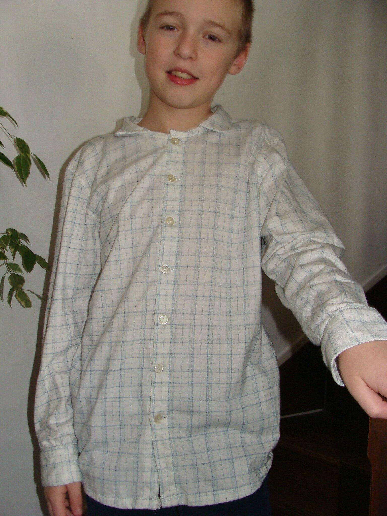 la chemise fashion conscious en 14ans pour mon fils ottobre 6/2014